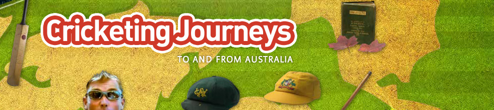 Cricketing Journeys to and from Australia