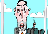 The Keating Call cartoon animation screen capture