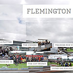 Detail from the Flemington on Cup Day interactive