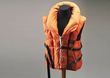 Bob Brown's life jacket