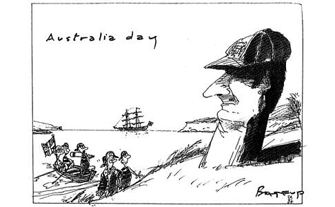 Cartoon by Ross Bateup