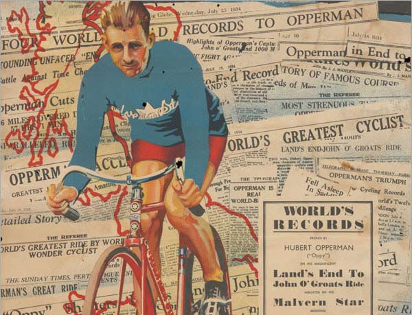 Advertising poster, Malvern Star: The cycle of Opperman