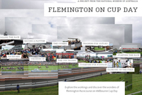Flemington on Cup Day