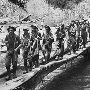 1942: Japanese bomb Darwin but are halted on the Kokoda Trail