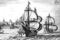 1616: Dutch navigator Dirk Hartog lands on the island off western Australia that now bears his name