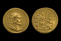Gold medallions