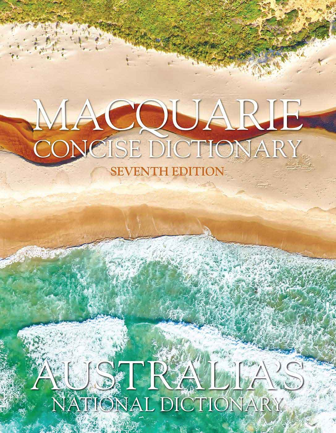 the cover of a Macquarie dictionary, seventh edition