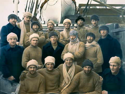 Crew of the Discovery - click to view larger image