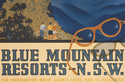 Blue Mountains resorts poster