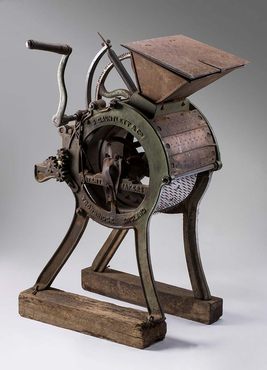 Horsehair carding machine - click to view larger image