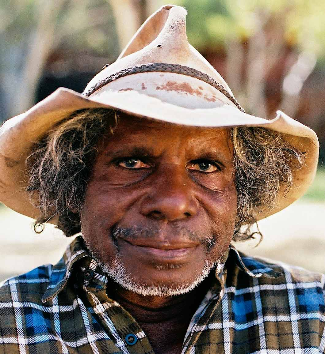 Portrait of Jawurji Mervyn Street. - click to view larger image