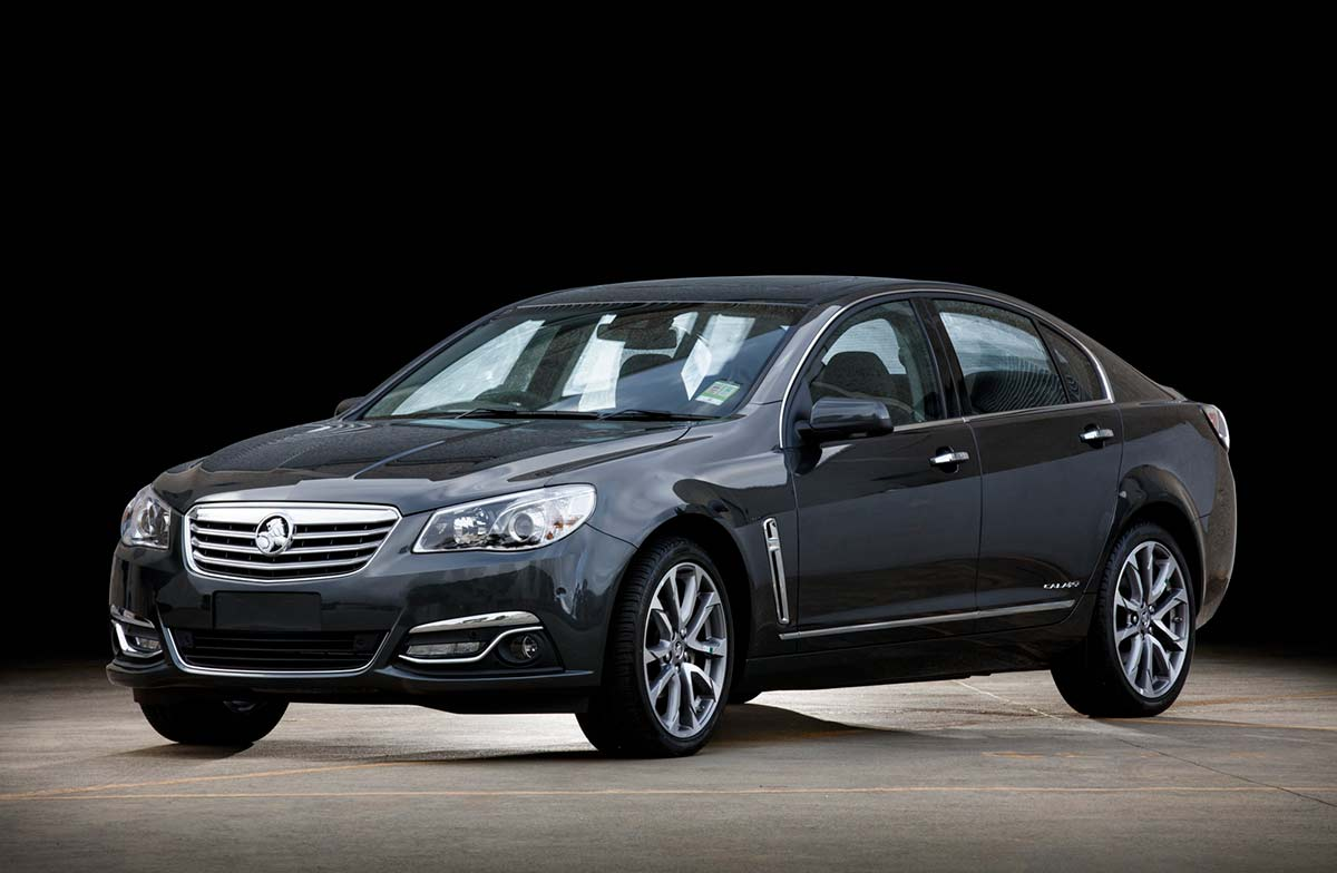 A dark grey sedan-style car. - click to view larger image
