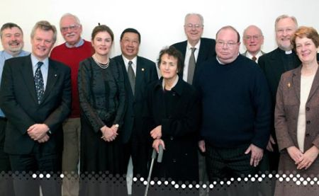 Group photo of the Council of National Museum of Australia