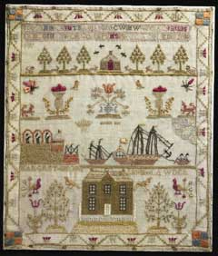 Sampler, depicting Botany Bay