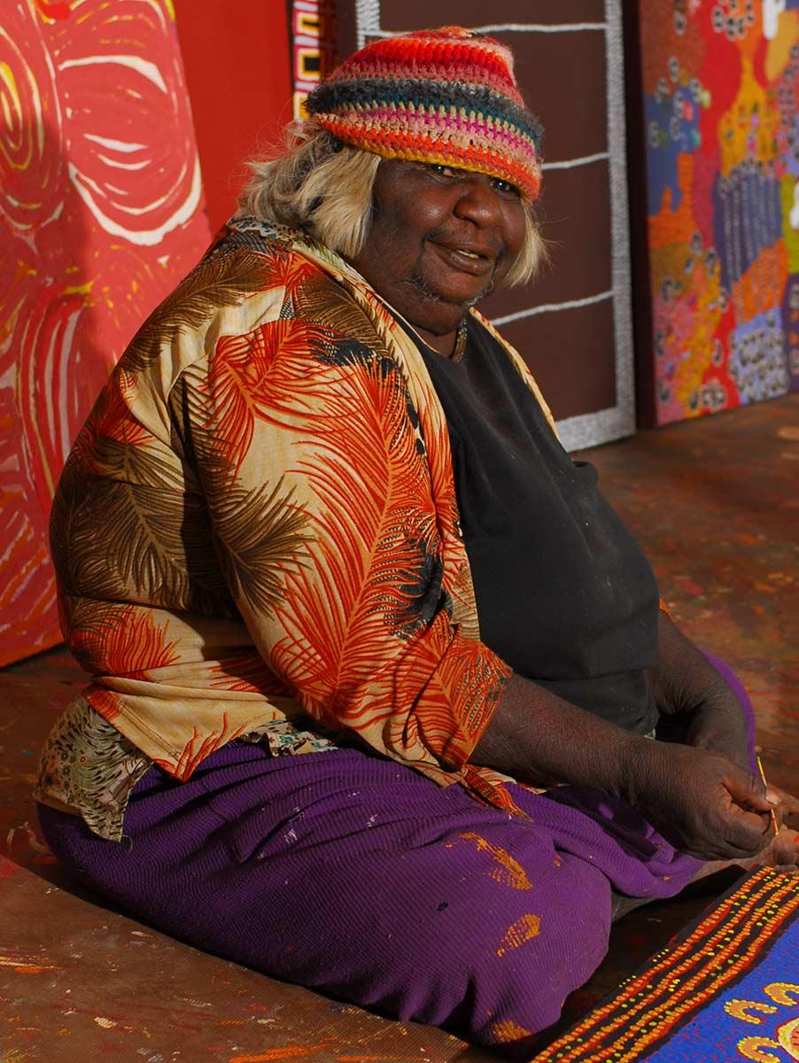 Eunice Yunurupa Porter portrait. - click to view larger image