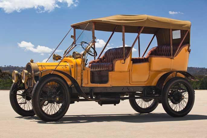 The restored Delaunay-Belleville tourer, 2013
