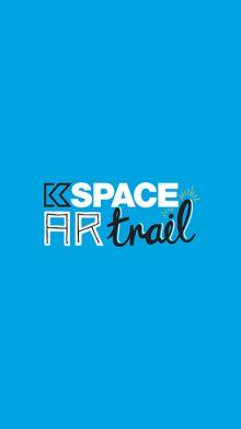 Kspace AR trail logo