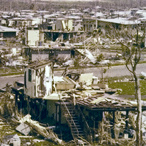 1974: Cyclone Tracy hits Darwin