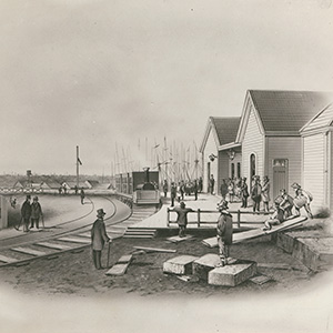 First railway line