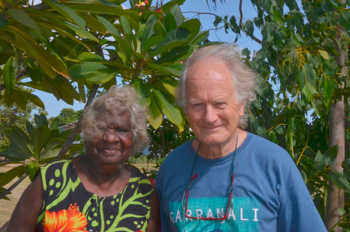 Mulkun Wirrpanda and John Wolseley