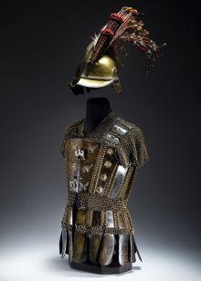 Armour and helmet