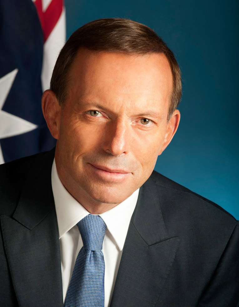 Tony Abbott - click to view larger image