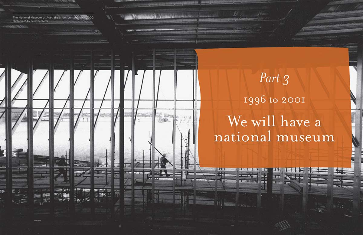 A screenshot ot Part 3: We will have a national museum. - click to view larger image