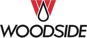 Logo for Woodside.