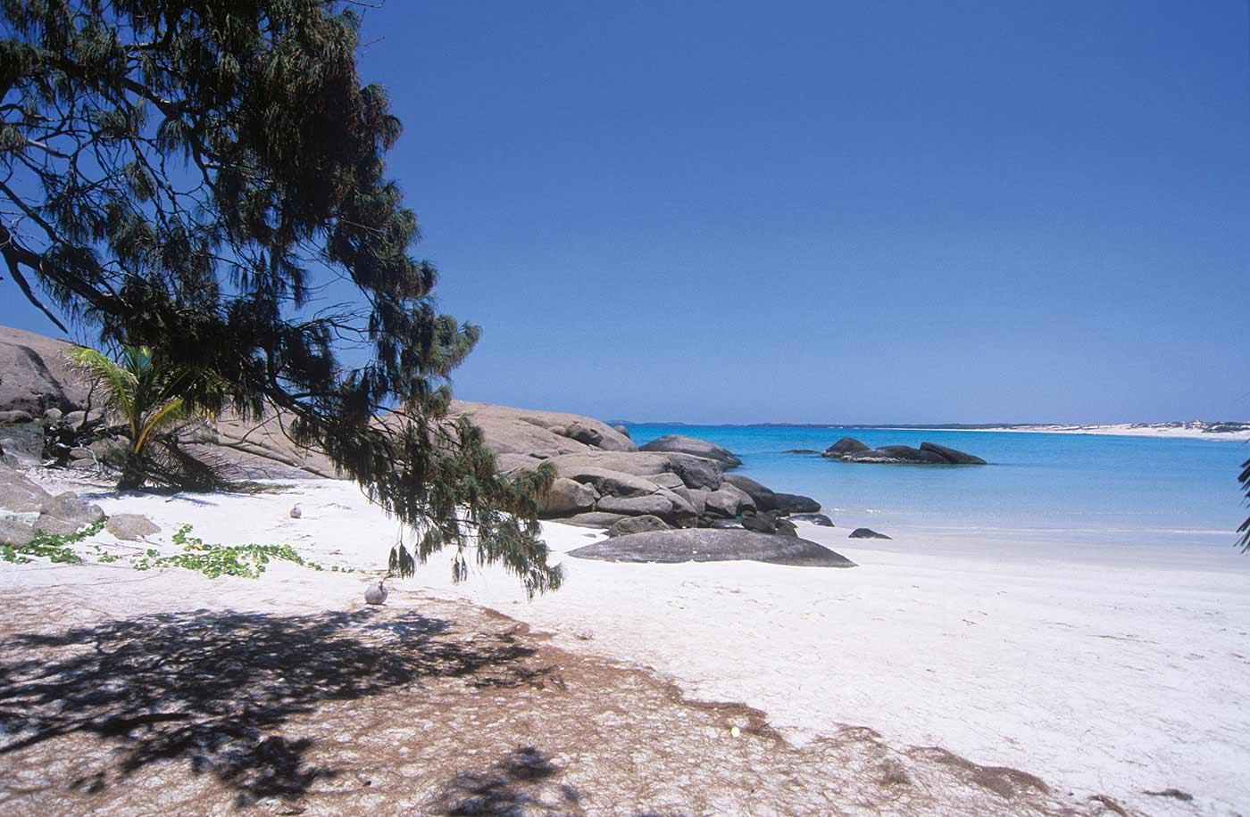 Yalangbara beach - click to view larger image