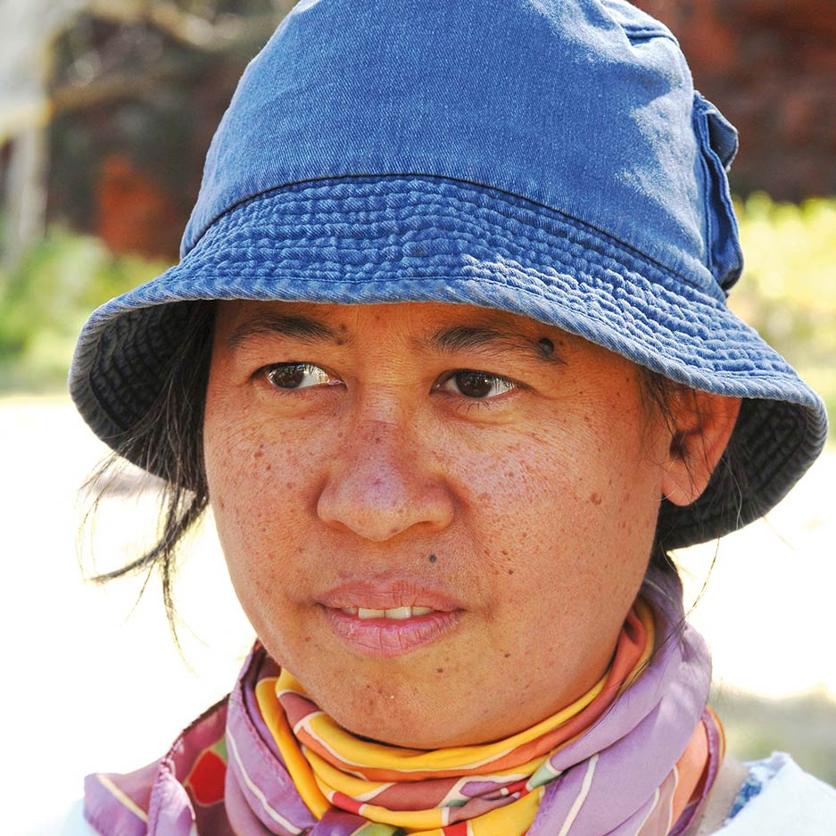 Portrait of Nicole Ma.