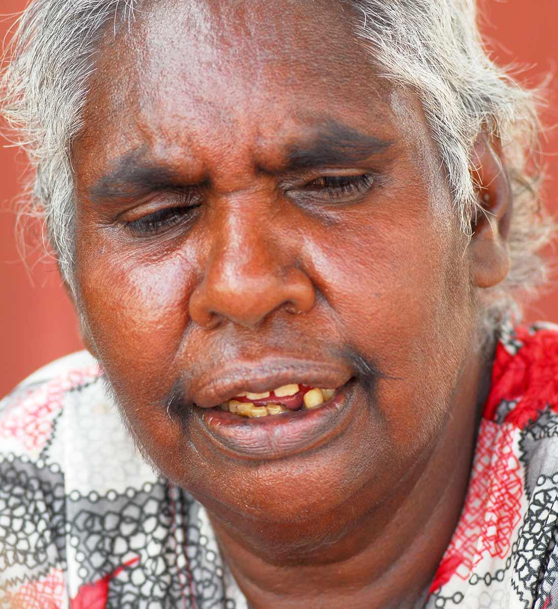 Portrait of Nana Daisy Kungah. - click to view larger image