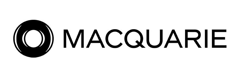 Macquarie Bank logo.