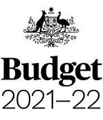 Budget logo 2021-22.