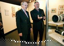 Senator Hon. Rod Kemp with Colin Whelan