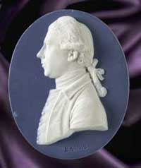Wedgwood medallion of Joseph Banks