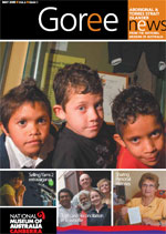 Cover for Goree, Aboriginal and Torres Strait Islander News, May 2009