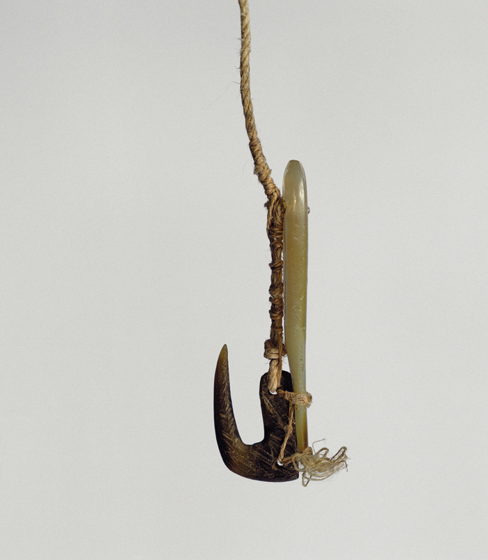 Hook Mother of Pearl Fishhook With Mother-of-pearl