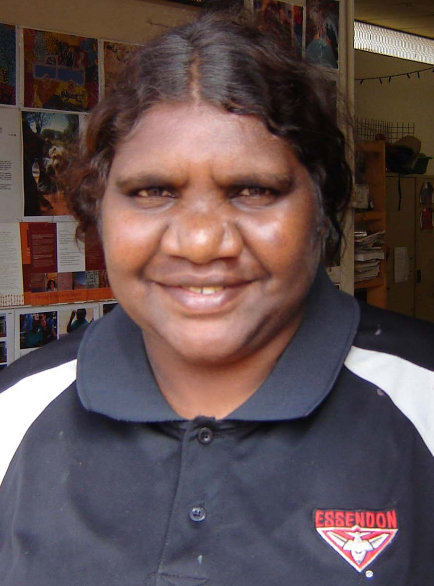 Maisy Nungurrayi Ward portrait. - click to view larger image