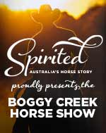 Spirited: Australia's Horse Story proudly presents the Boggy Creek Horse Show.