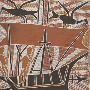 about 1700: Makasar from Sulawesi visit northern Australia and trade with Aboriginal people