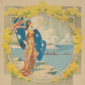 1913: The newly created Royal Australian Navy's 'fleet unit' sails into Sydney Harbour