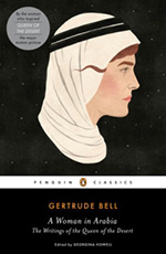 a book cover of the book Woman in Arabia by Gertrude Bell