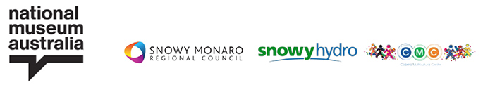 logos for nma, snowy monaro regional council, snowy hydro and cmc