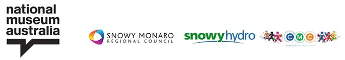 logos for nma, snowy monaro regional council, snowy hydro and cmc