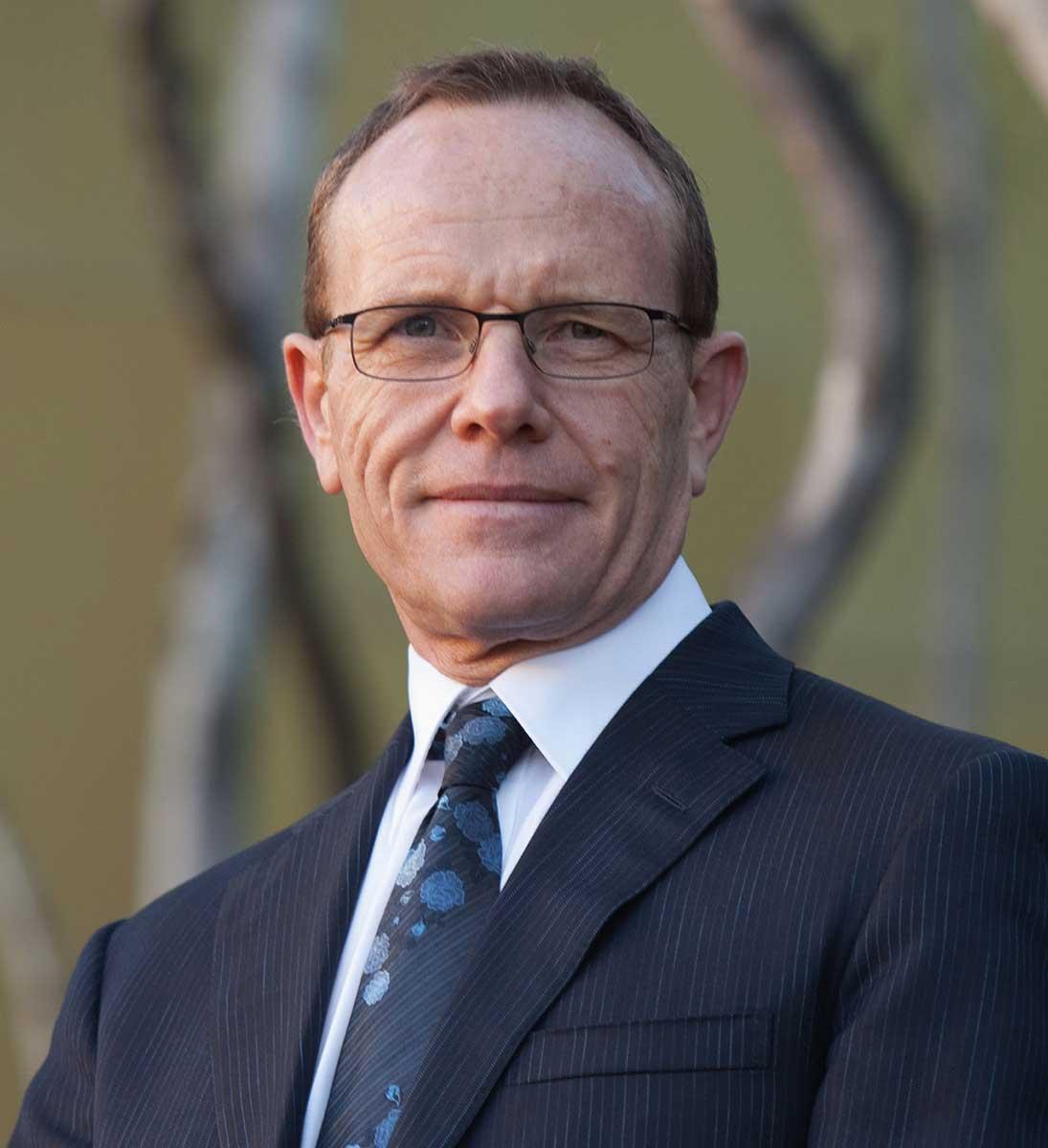 Portrait of Andrew Sayers.