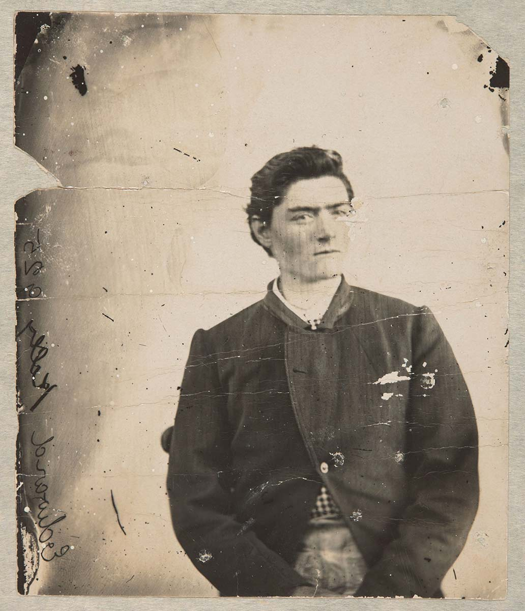 Photo of a young man taken from waist up. - click to view larger image