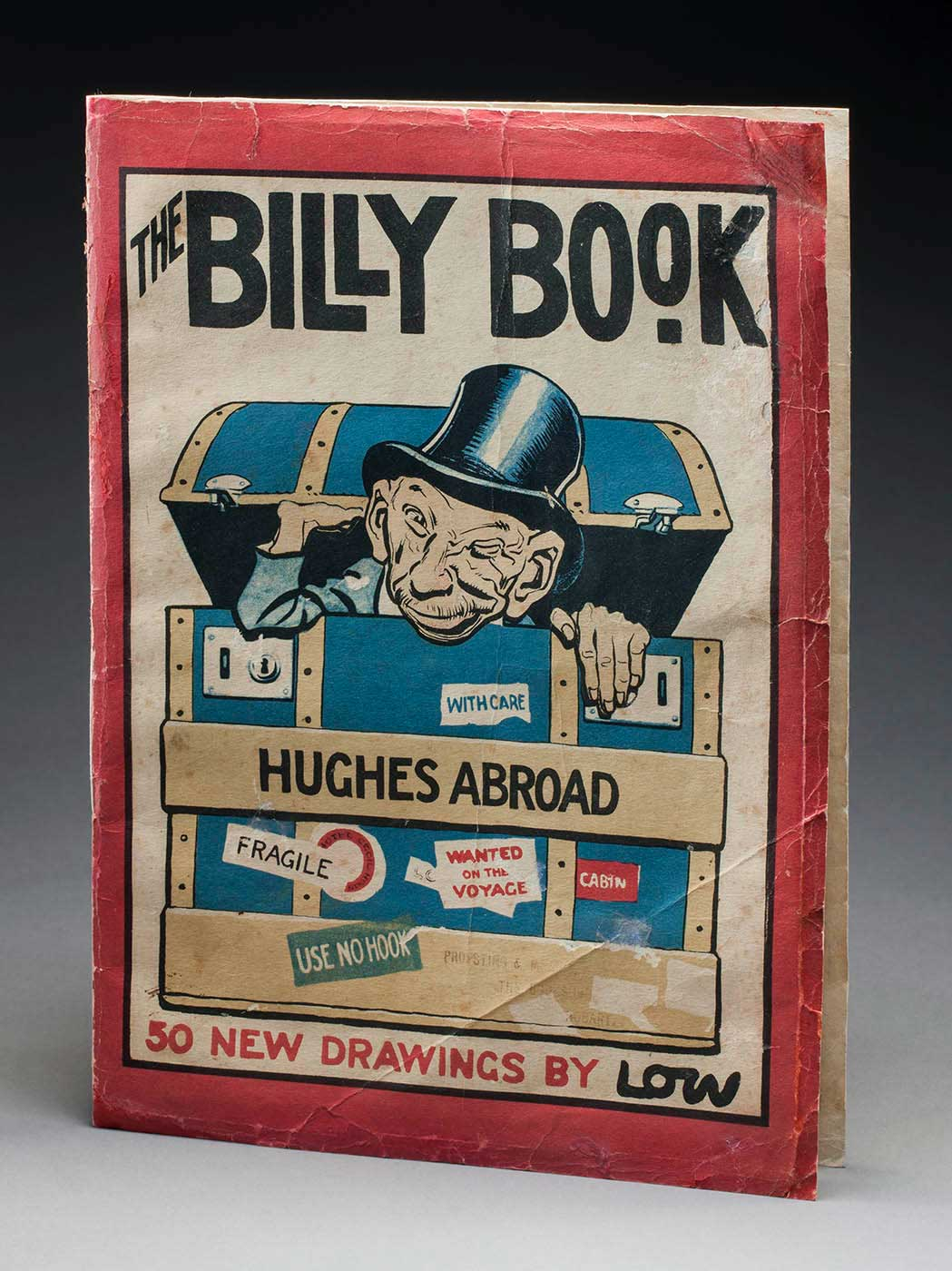 Book titled 'THE BILLY BOOK' with an illustration of a man with a top hat emerging from a chest. - click to view larger image