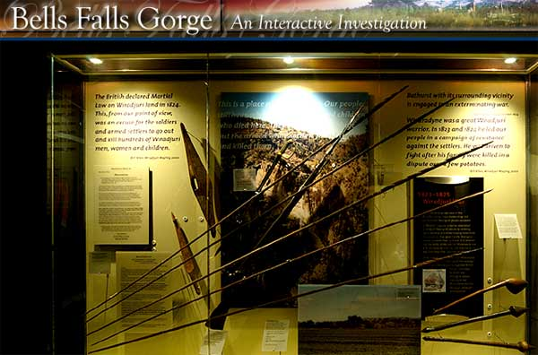Bells Falls Gorge interactive - image