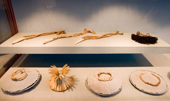Jewellery installation.