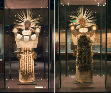 Mourning dress, front and back
